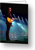Music Greeting Cards - Joe Bonamassa 2 Greeting Card by Peter Chilelli