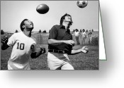 Athlete Greeting Cards - Joe Namath (1943- ) Greeting Card by Granger