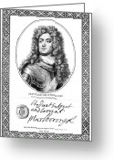 Autograph Greeting Cards - John Churchill (1650-1722) Greeting Card by Granger