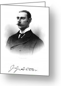 Signature Greeting Cards - John Jacob Astor Iv (1864-1912) Greeting Card by Granger