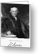 Signature Greeting Cards - John Julius Angerstein Greeting Card by Granger