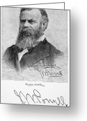 Autograph Greeting Cards - John Wesley Powell Greeting Card by Granger