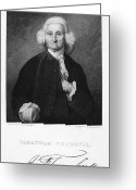 Autograph Greeting Cards - Jonathan Trumbull Greeting Card by Granger