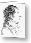 Male Forms Greeting Cards - Joseph Fourier, French Mathematician Greeting Card by
