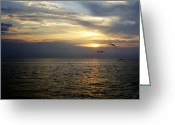 Thomas Luca Greeting Cards - Journey into the Horizon Greeting Card by Thomas Luca
