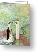 Ceremony Greeting Cards - Journey of Marriage Greeting Card by Arlissa Vaughn