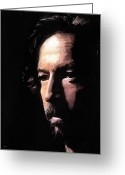 Slowhand Greeting Cards - Journeyman Greeting Card by Peter Chilelli