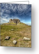 Archaeology Greeting Cards - Jubilee Tower Greeting Card by Adrian Evans