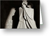 Sunlight Greeting Cards - Judas Treason Greeting Card by David Bowman