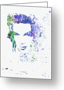 Judy Greeting Cards - Judy Garland 2 Greeting Card by Irina  March