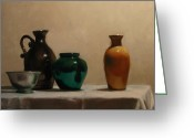 Jugs Greeting Cards - Jugs and Jars Greeting Card by Tim Kelly
