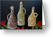 Jugs Greeting Cards - Jugs Greeting Card by Beverly Livingstone