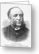 Jules Photo Greeting Cards - Jules Ferry (1832-1893) Greeting Card by Granger