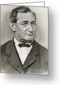 Julius Greeting Cards - Julius Robert Von Mayer Greeting Card by Photo Researchers