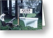 Graffiti Art For The Home Greeting Cards - Junk Mail Greeting Card by The Signs of the Times Collection