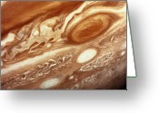 Storm Cloud Greeting Cards - Jupiter Greeting Card by InterNetwork Media
