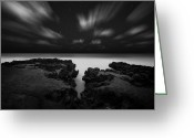 Extended Exposure Greeting Cards - Jupiter Greeting Card by Joseph Deats