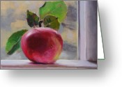 Food Pastels Greeting Cards - Just Picked Greeting Card by Jeanne Rosier Smith