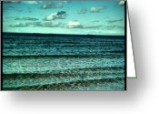 Prestigeclass Greeting Cards - Just Sea & Sky & Nothin Else Greeting Card by Rachel-Avalon Brightside