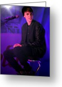 Gb Greeting Cards - Justin Bieber 17 Greeting Card by Jez C Self