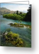 Lord Of The Rings Greeting Cards - Kawerau River Greeting Card by Kevin Smith