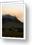 Misty Prints Prints Greeting Cards - Keep warm Greeting Card by Paul  Mealey