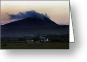 Gaelic Prints Greeting Cards Greeting Cards - Keeping warm Greeting Card by Paul  Mealey