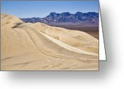 Kelso Greeting Cards - Kelso Sand Dunes Greeting Card by Kelley King