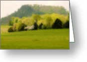 Huisken Greeting Cards - Kentucky Springtime Greeting Card by Lyle  Huisken