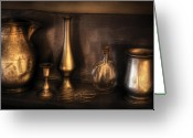 Whiskey Greeting Cards - Kettle - Ready for a drink Greeting Card by Mike Savad