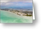 Key West Island Greeting Cards - Key West Greeting Card by Patrick M Lynch
