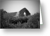 County Clare Greeting Cards - Kilmanaheen Church Ruins Ennistymon Ireland Greeting Card by Teresa Mucha