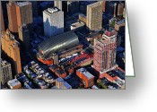 Avenue Of The Arts Greeting Cards - Kimmel Center for the Performing Arts 260 South Broad Street Suite 901 Philadelphia PA 19102 Greeting Card by Duncan Pearson