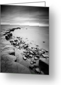Gb Greeting Cards - Kimmeridge Bay Greeting Card by Nina Papiorek