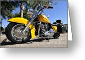 V Twin Greeting Cards - King of the road Greeting Card by David Lee Thompson