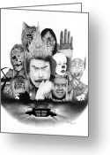 Horror Car Greeting Cards - Kings Kingdom Greeting Card by Keith Larocque