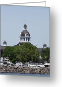 Kingston City Hall Greeting Cards - Kingston City Hall Greeting Card by Jim Beattie