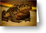 Toad Greeting Cards - Kiss me... Im a prince Greeting Card by Alessandro Della Pietra