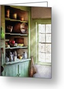 Thank You Greeting Cards - Kitchen - Kitchen Necessities Greeting Card by Mike Savad