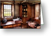 Amish Greeting Cards - Kitchen - Nothing ordinary Greeting Card by Mike Savad