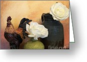 Pitcher Greeting Cards - Kitchen Picture Greeting Card by Marsha Heiken