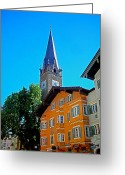 Alpine Panorama Greeting Cards - Kitzbuehel - Austria Greeting Card by Juergen Weiss