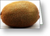 Kitchen Photos Greeting Cards - Kiwi Greeting Card by John Rizzuto