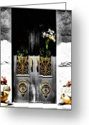 Value Greeting Cards - Knocking on Heavens Door Greeting Card by Karen M Scovill