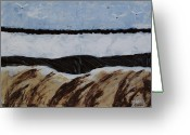 Landing Painting Greeting Cards - Knots Landing Greeting Card by Marsha Heiken