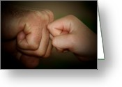 Aunt Greeting Cards - Knuckle Punch Greeting Card by Karen M Scovill