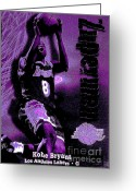 Digitalized Digital Art Greeting Cards - Kobe Bryant Greeting Card by Marsha Heiken