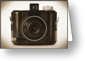 Camera Digital Art Greeting Cards - Kodak Baby Brownie Greeting Card by Mike McGlothlen