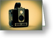 Film Greeting Cards - Kodak Brownie Greeting Card by Bob Orsillo