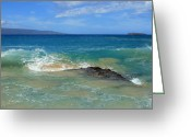 Discovery Channel Greeting Cards - Kohemalamalama O Kanaloa Greeting Card by Sharon Mau